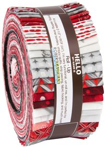Roll-up fabric roll Winter Colorstory silver metallic Robert ...