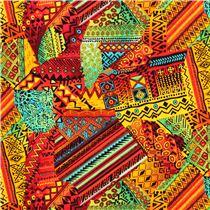 tissu africain pour patchwork