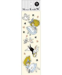 s e m rchen herz spaten hase alice im wunderland sticker von shinzi katoh s e sticker. Black Bedroom Furniture Sets. Home Design Ideas