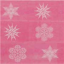Nastro adesivo washi fucsia fiocchi di neve nastri adesivi natalizi nastri adesivi - Nastri decorativi natalizi ...