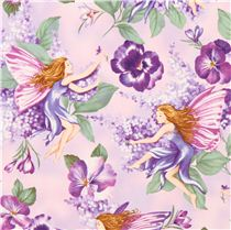 Pink flower fairy fabric with glitter timeless treasures fairy pink flower fairy fabric with glitter timeless treasures mightylinksfo