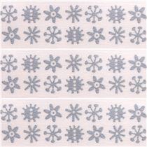 Nastro coprente mt washi decorativo fiocchi di neve fiori nastri adesivi natalizi nastri - Nastri decorativi natalizi ...