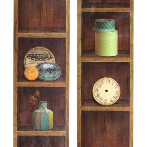 Extra Wide Mt Casa Washi Tape 10cm Vintage Rack Shelf
