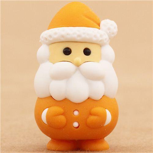 oranger weihnachtsmann weihnachten radiergummi von iwako. Black Bedroom Furniture Sets. Home Design Ideas