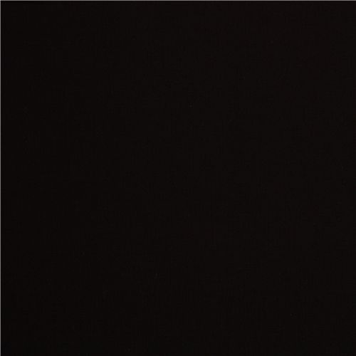 Solid Black Fabric Robert Kaufman USA Black